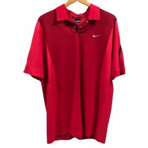 Nike Dri Fit Tiger Woods Edition Golf Shirt Size L